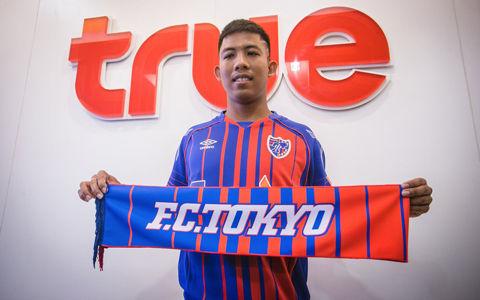 FC東京、タイ人MFジャキットがレンタル加入「多くのことを学べるように」