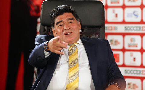 FIFA会長選出馬のマラドーナ「だいたい12年ぐらいドラッグはやっていない」