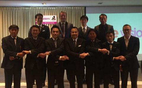 Jリーグ、アジアでの放映拡大に前進…タイの「ture vision」がバンコクで会見