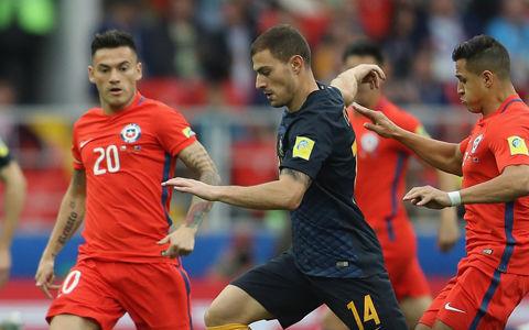 豪州は南米王者追い詰めるもGL敗退…チリが2位で準決勝進出