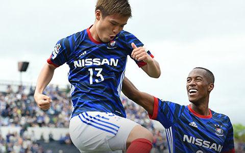 横浜FM、甲府を下し連敗を3でストップ…セットプレーから金井が決勝点