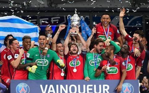 パリSGがフランスカップ3連覇!アンジェ奮闘も終了間際に力尽きる