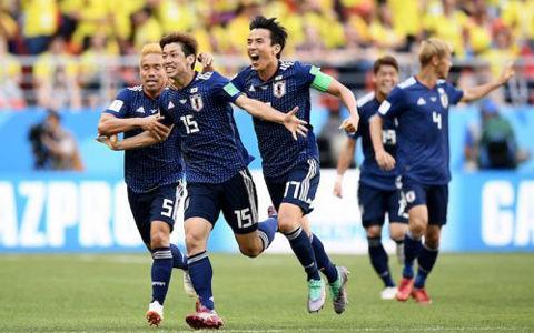日本対コロンビア 採点と寸評…長友と原口の闘争心に拍手