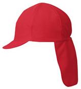 UV対策帽子 スクラムプラス 05アカ 大