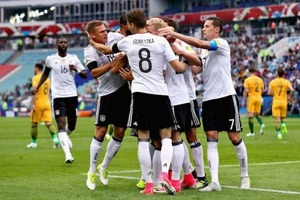<FIFAコンフェデ杯>豪州は世界王者に1点及ばず…若手ドイツが打ち合い制して白星発進