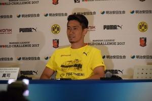 香川真司、ドルトムントと2020年まで契約延長
