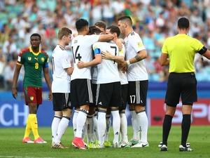 <FIFAコンフェデ杯>ドイツが10人のカメルーンに快勝で首位通過!豪州は南米王者を追い詰めるもGL敗退