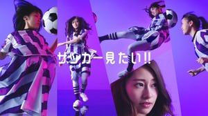 <乃木坂46メンバー>NHK「サッカー 見たい!!」キャンペーンに起用!白石麻衣、松村沙友理ら5人