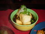 揚げ出し豆腐