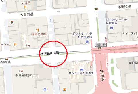 錦通伊勢町