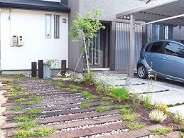 自宅の駐車場