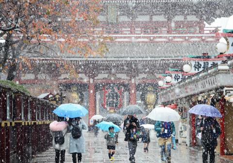 20161124-東京初雪-02