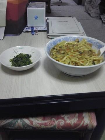 カレーうどん?2