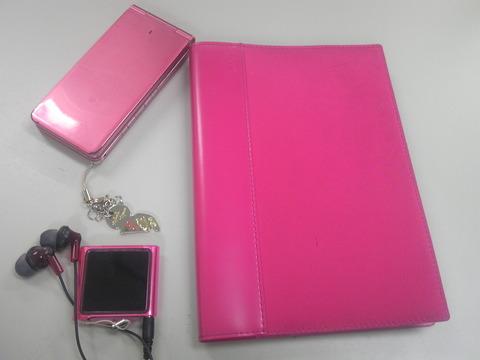 手帳と携帯