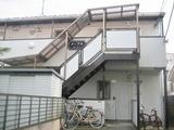 経堂1Kアパート外観