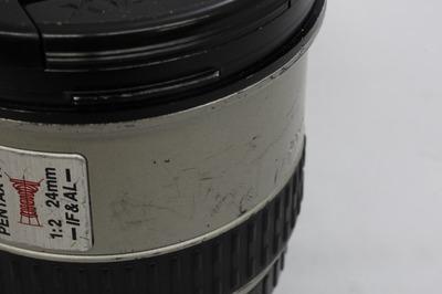 ペンタックス SMC-FA★24mm F2 IF AL c
