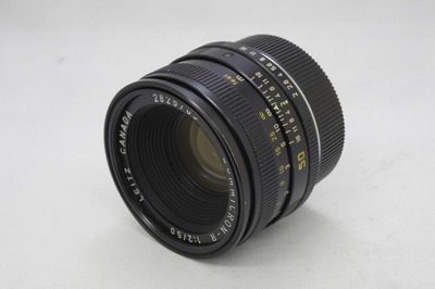 Leica_Summicron-R_50mmf2_3カム