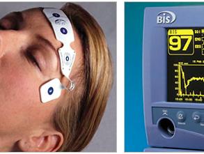 最適な脊髄モニタリングを得るために。BISモニターで麻酔深度をチェック。