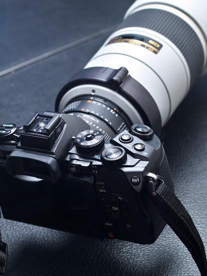E-M1と300mm F4 D