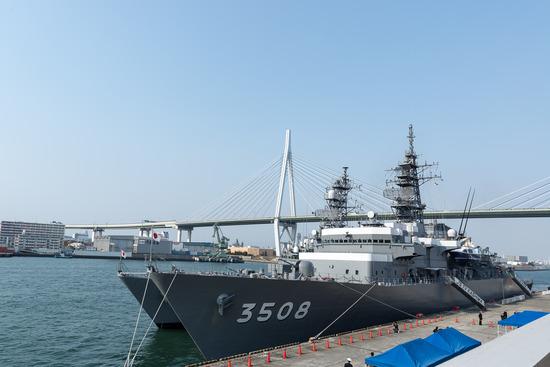 日本国練習艦隊寄港