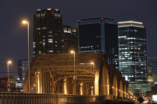 十三大橋夜景
