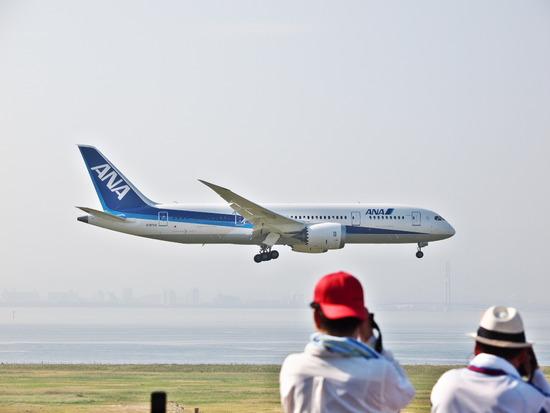 787 Dream Liner in 関西国際空港