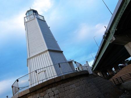 史跡旧堺燈台