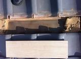 2葺き土の撤去