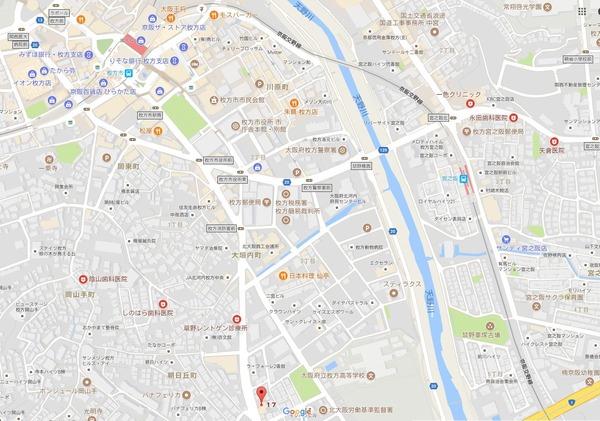 ラフィーネ 地図