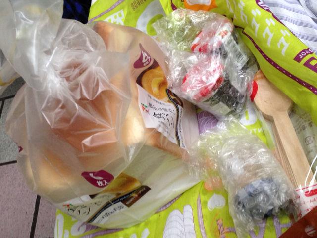 パン粉:お弁当