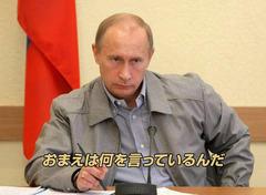 プーチン「おまえは何を言っているんだ」