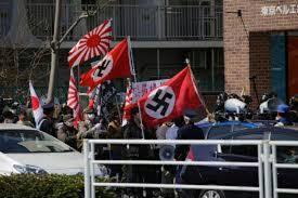 朝日記者のツイート 銀座デモ