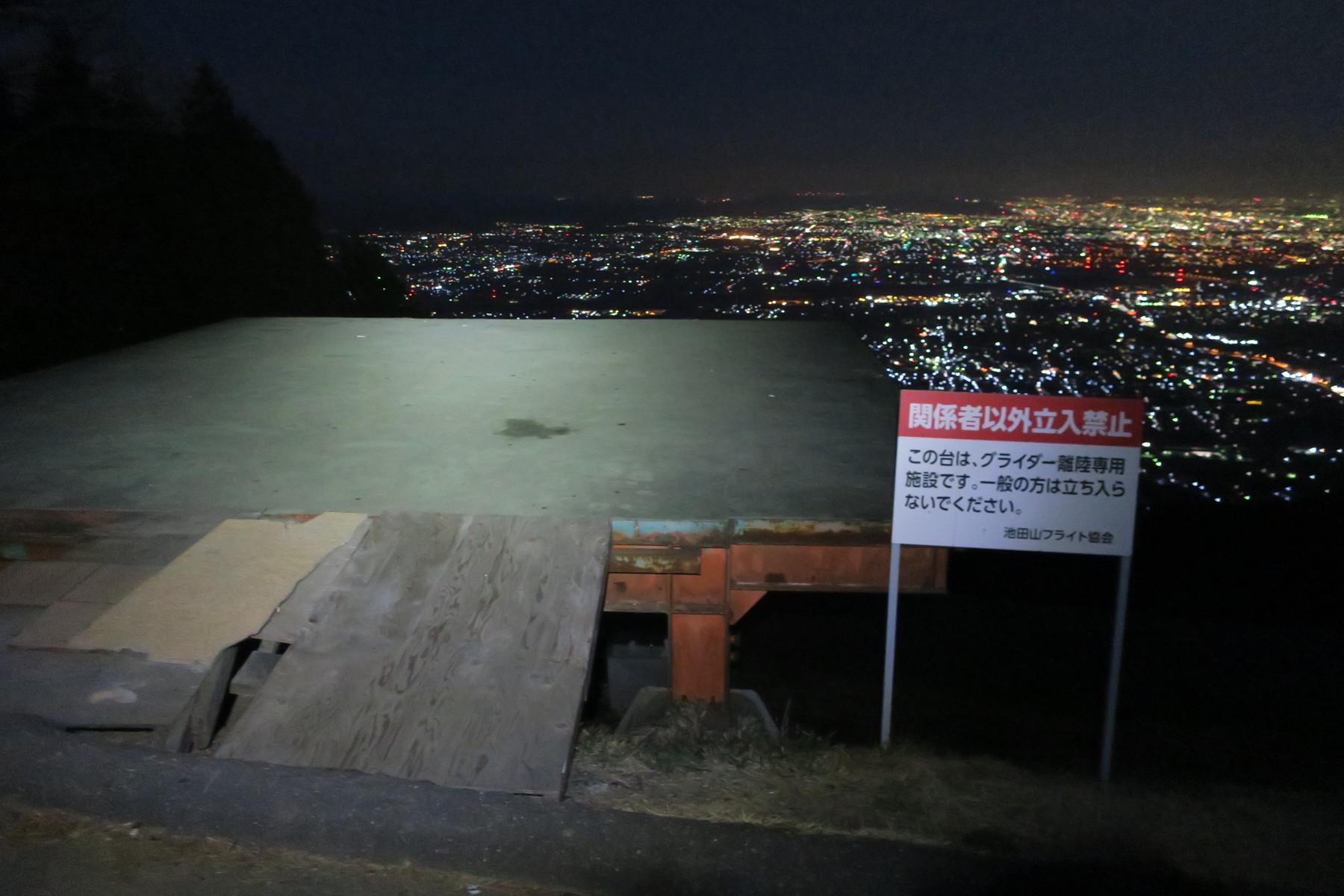 展望 台 山 池田