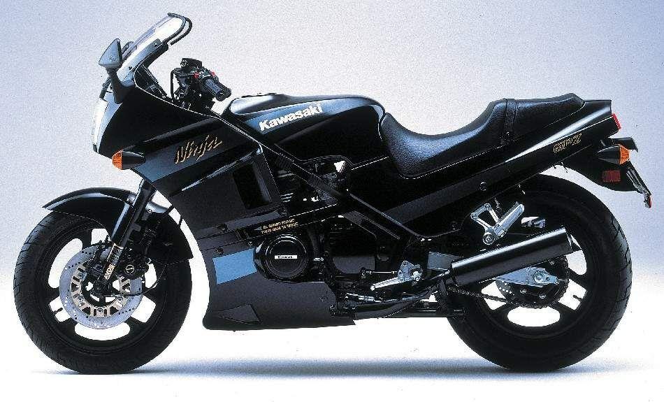 Kawasaki GPZ400R 87