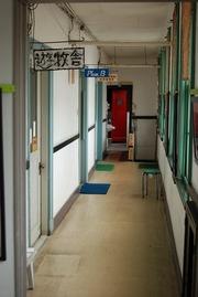 門司港駅前 廊下