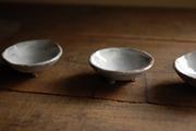 刷毛目 3ツ足 豆皿1