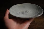 刷毛目 楕円銘々皿2