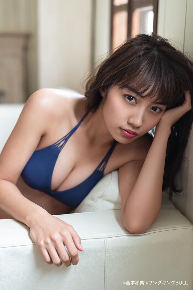 黒木ひかり 美乳 黒髪 グラビア (1)