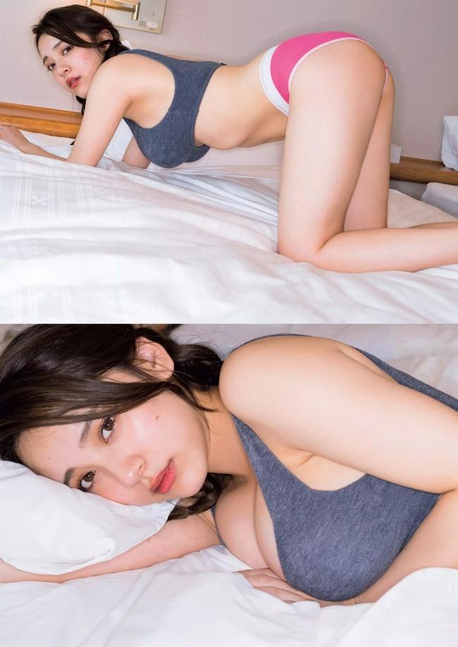 都丸紗也華 Fカップ グラビア画像 (13)