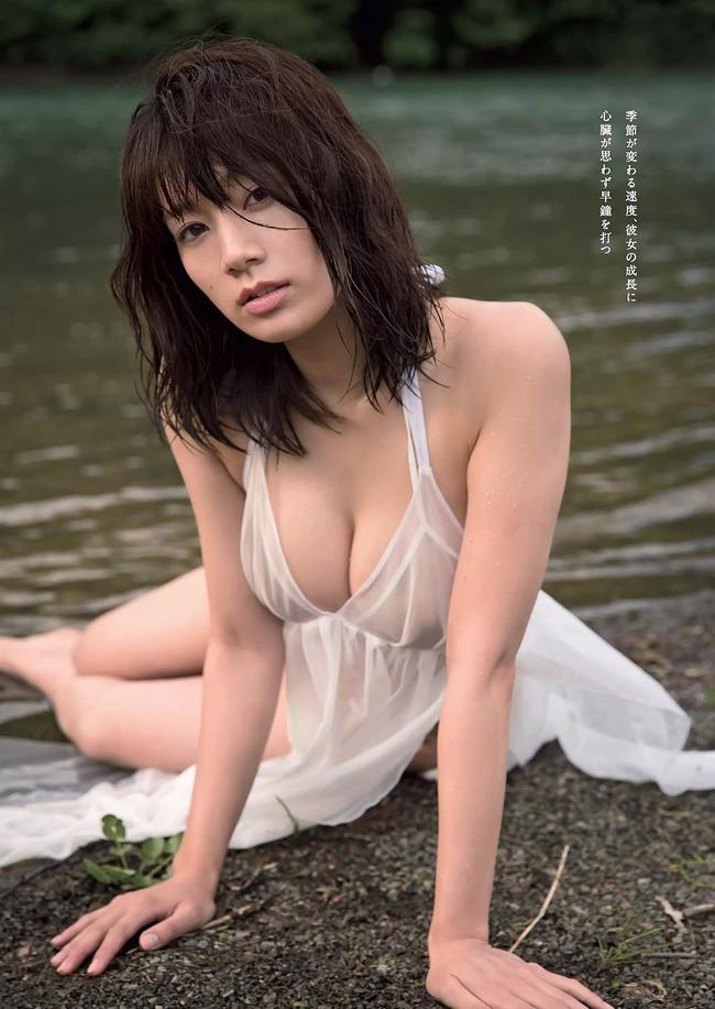 佐藤美希 巨乳 グラビア画像 (27)