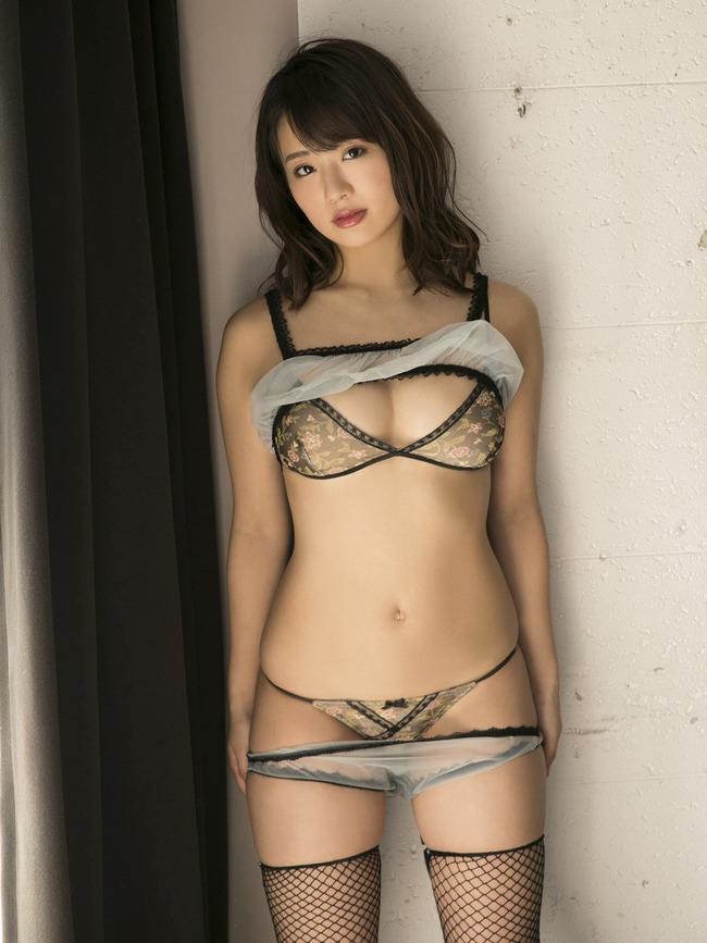 平嶋夏海 F乳 グラビア (4)