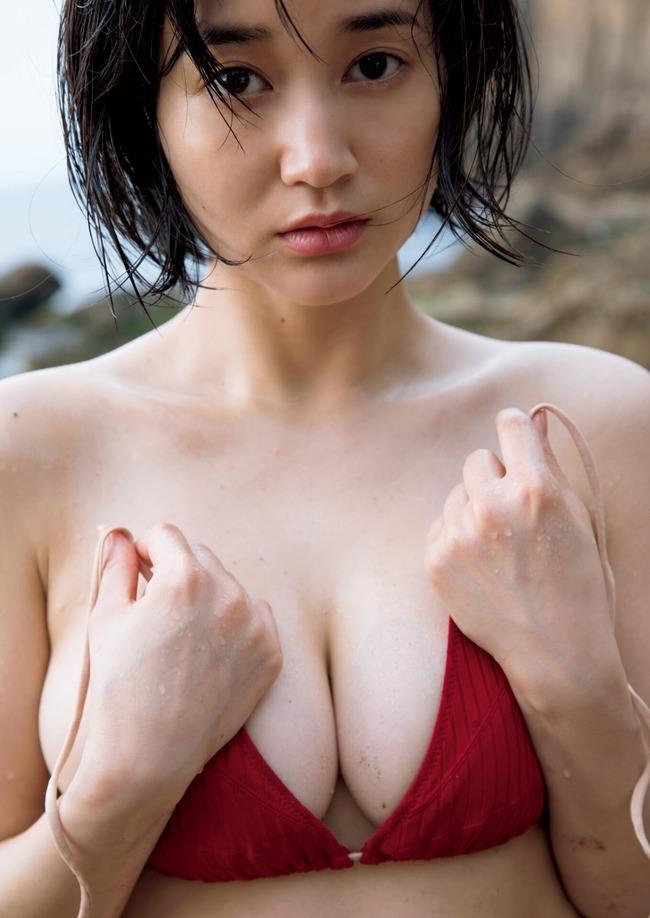出口亜梨沙 巨乳 グラビア画像 (10)