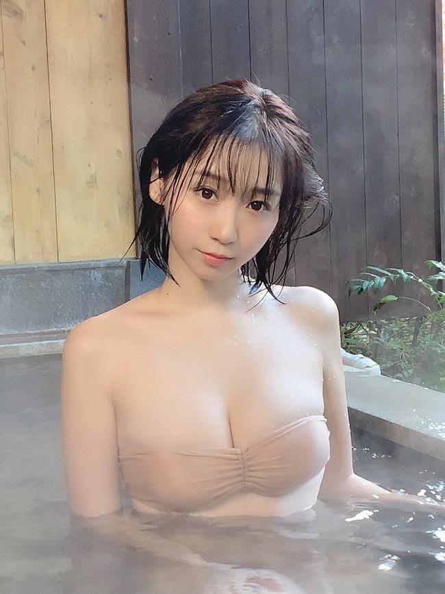 伊織もえ 虚乳 ニット (25)