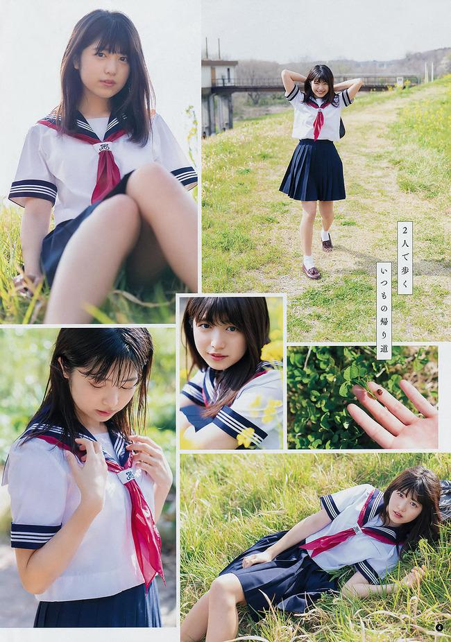 吉田莉桜 かわいい JK (6)
