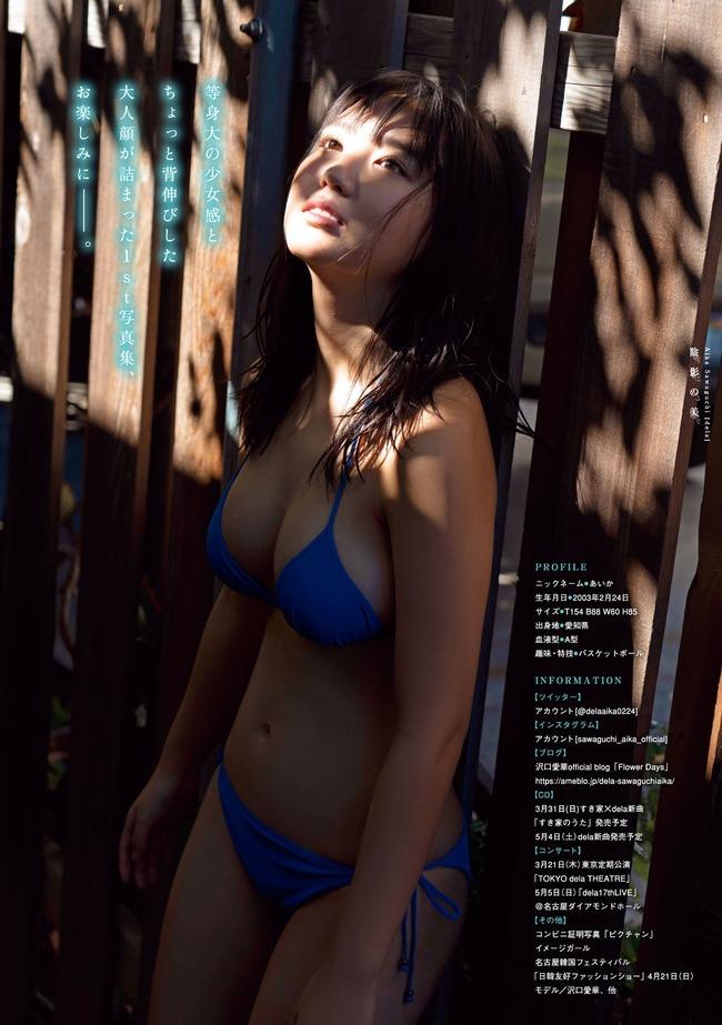沢口愛華 巨乳 グラビア (10)