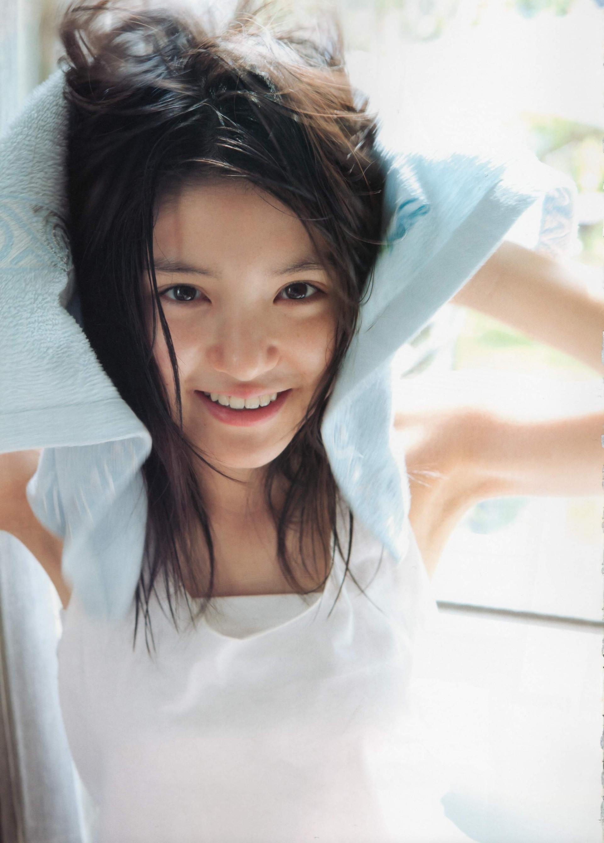 黒髪美少女の川島海荷の水着姿が天使としか思えないよ(*´▽`*)ww×35P 表紙