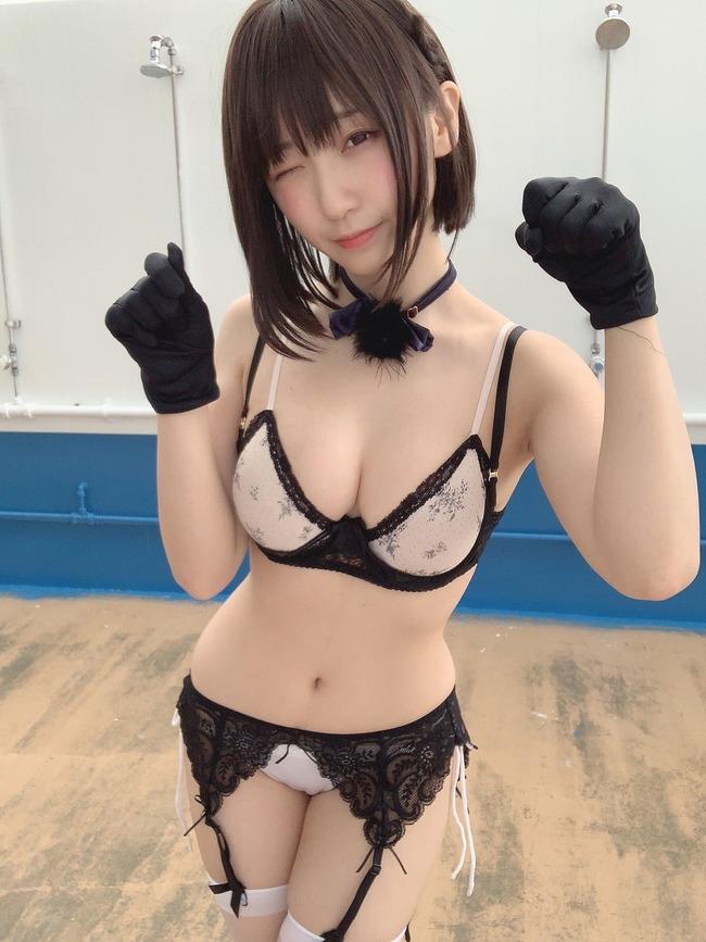 伊織もえ 虚乳 ニット (2)