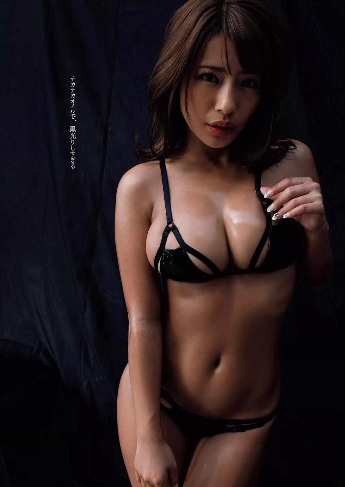 Gカップの張りがスゴイ上日本一黒いグラドルとして活躍する橋本梨菜が最高すぎると思うのは俺だけか(*´▽`*)ww×49P 表紙