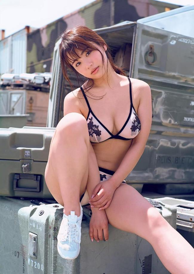平嶋夏海 Fカップ 元アイドル (25)