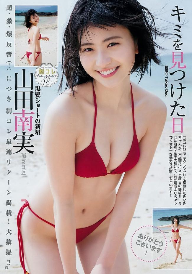 山田南実 グラビア (5)